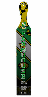 FarmHouse Fraternity Custom Full Color Paddle