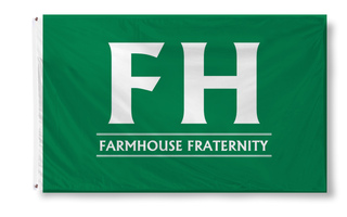 FarmHouse Fraternity Custom Line Flag