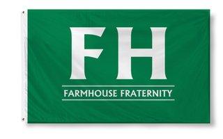 FarmHouse Fraternity Custom Line Flag