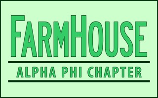 FarmHouse Fraternity Custom Line Sticker Decal