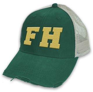 FARMHOUSE Distressed Trucker Hat