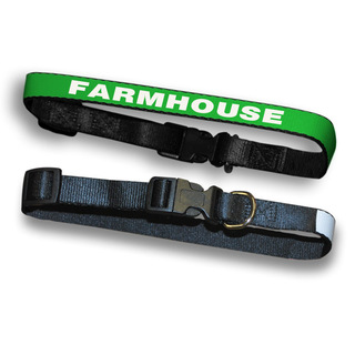 FarmHouse Fraternity Dog Collar