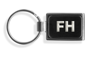 FarmHouse Fraternity Engraved Chrome Keychains