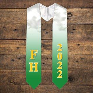 FARMHOUSE Extra Fancy Greek Graduation Stole W Year