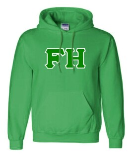 FarmHouse Fraternity Sewn Lettered Sweatshirts