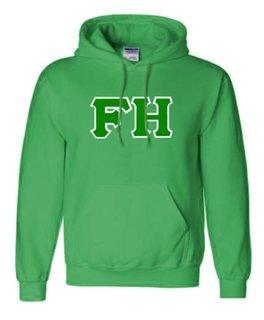 FarmHouse Fraternity Sewn Lettered Sweatshirts