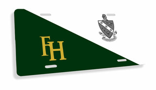 FarmHouse Fraternity Flag License Cover