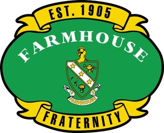 FarmHouse Fraternity Banner Crest - Shield Decal