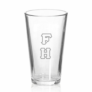 FarmHouse Fraternity Big Letter Mixing Glass