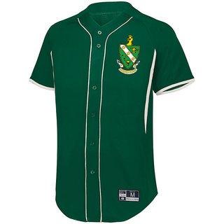 FARMHOUSE Game 7 Full-Button Baseball Jersey