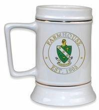 FarmHouse Fraternity Ceramic Stein