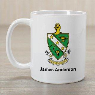 FARMHOUSE Greek Crest Coffee Mug - Personalized!