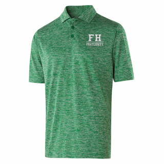 FarmHouse Fraternity Letter Electrify Polo