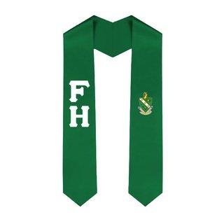 FarmHouse Fraternity Lettered Graduation Sash Stole