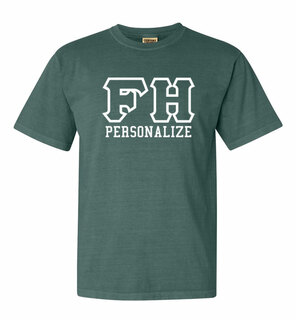 FARMHOUSE Greek Outline Comfort Colors Heavyweight T-Shirt