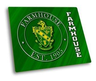 FarmHouse Fraternity Hard Mousepad