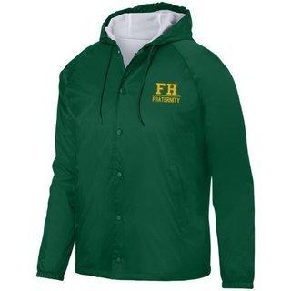 FarmHouse Fraternity Hooded Coach's Jacket