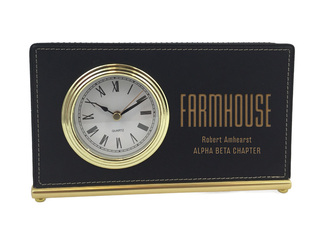 FarmHouse Fraternity Horizontal Desk Clock