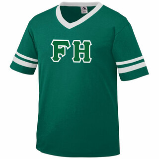 DISCOUNT-FarmHouse Fraternity Jersey With Greek Applique Letters