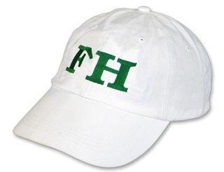 FarmHouse Fraternity Letter Hat