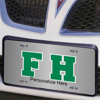 FarmHouse Fraternity Lettered License Cover