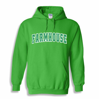 FarmHouse Fraternity Letterman Twill Hoodie