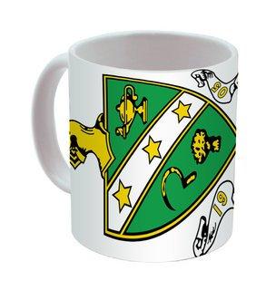 FarmHouse Fraternity Mega Crest - Shield Coffee Mug