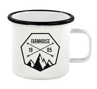 FarmHouse Fraternity Metal Camping Mug