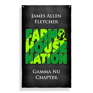 FarmHouse Fraternity Nations Giant Flag