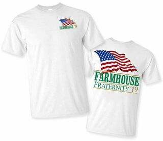 FarmHouse Fraternity Patriot Limited Edition Tee- $15!