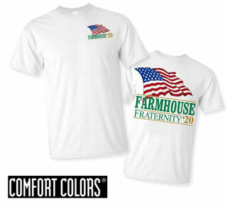 FarmHouse Fraternity Patriot  Limited Edition Tee - Comfort Colors