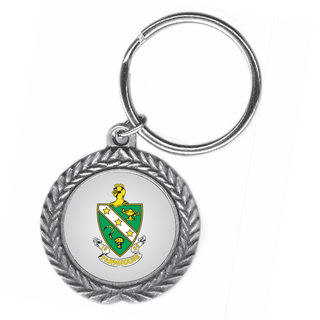 FarmHouse Fraternity Pewter Key Ring