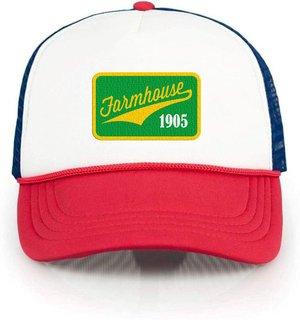 FARMHOUSE Red, White & Blue Trucker Hat