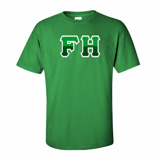 FarmHouse Fraternity Two Tone Greek Lettered T-Shirt