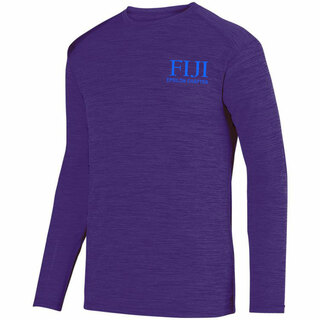 FIJI Fraternity- $26.95 World Famous Dry Fit Tonal Long Sleeve Tee