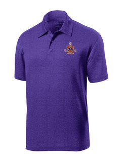 DISCOUNT-FIJI Fraternity- World Famous Greek Crest - Shield Contender Polo
