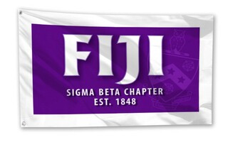 FIJI Fraternity 3 x 5 Flag