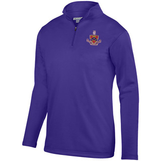DISCOUNT-FIJI Fraternity-  World famous-Crest - Shield Wicking Fleece Pullover