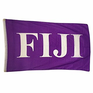 FIJI Fraternity Big Greek Letter Flag