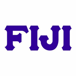 FIJI Fraternity Big Greek Letter Window Sticker Decal