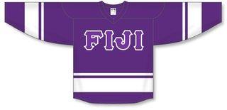 DISCOUNT-FIJI Fraternity Breakaway Lettered Hockey Jersey
