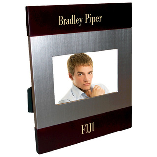 FIJI Fraternity Brush Silver Frame