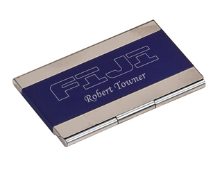 FIJI Fraternity Business Card Holder