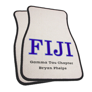 FIJI Fraternity Car Mats