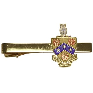 FIJI Fraternity Color Crest Tie Clips