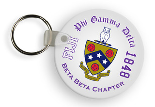 FIJI Fraternity Color Keychains