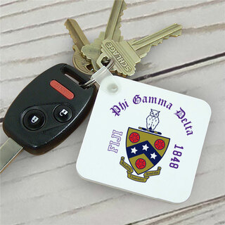 FIJI Fraternity Color Keychains