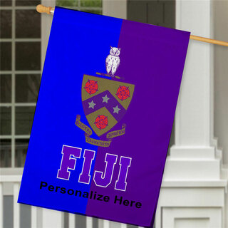 FIJI Crest House Flag