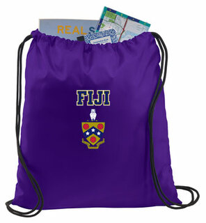 FIJI Crest - Shield Cinch Sack
