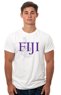 FIJI Fraternity Crest - Shield Tee